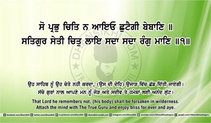 Sri Guru Granth Sahib Ji Arth Ang 43 post 2